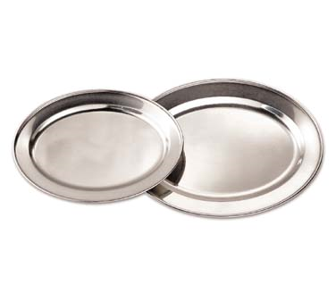 Admiral Craft OPD-18 platter, stainless steel