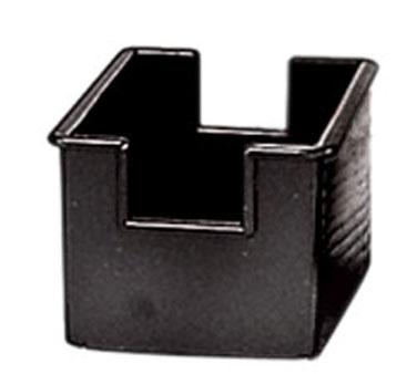 Admiral Craft SUG-4BK sugar packet holder / caddy