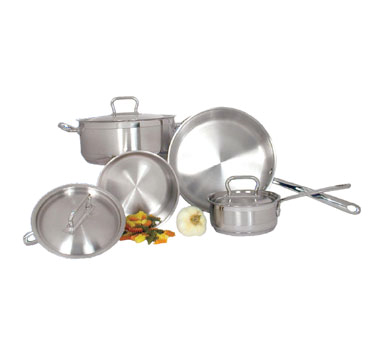 Adcraft (Admiral Craft Equipment) SXS-7PC pot pan set