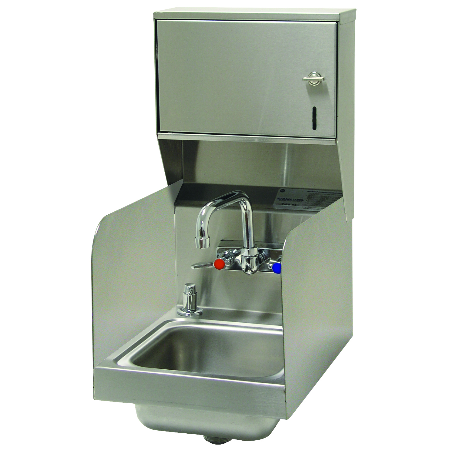 Advance Tabco 7-PS-73-1X sink, hand