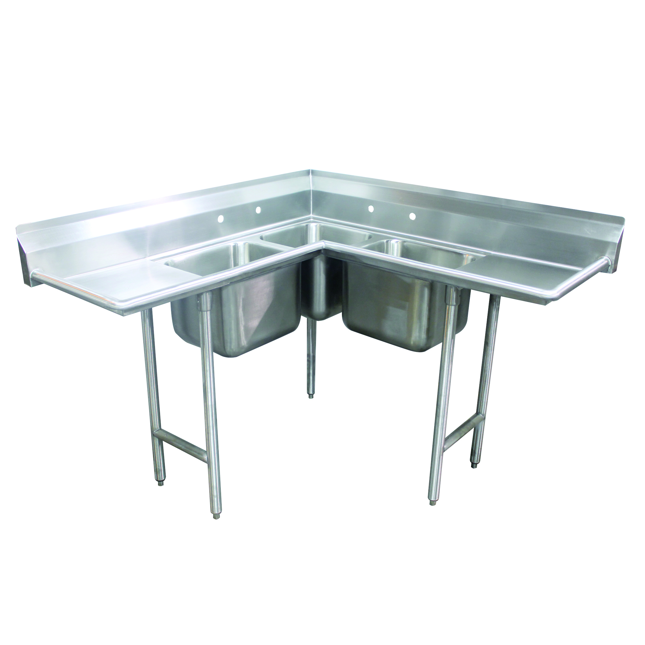 Advance Tabco 94-K6-18D-X sink, corner, compartment
