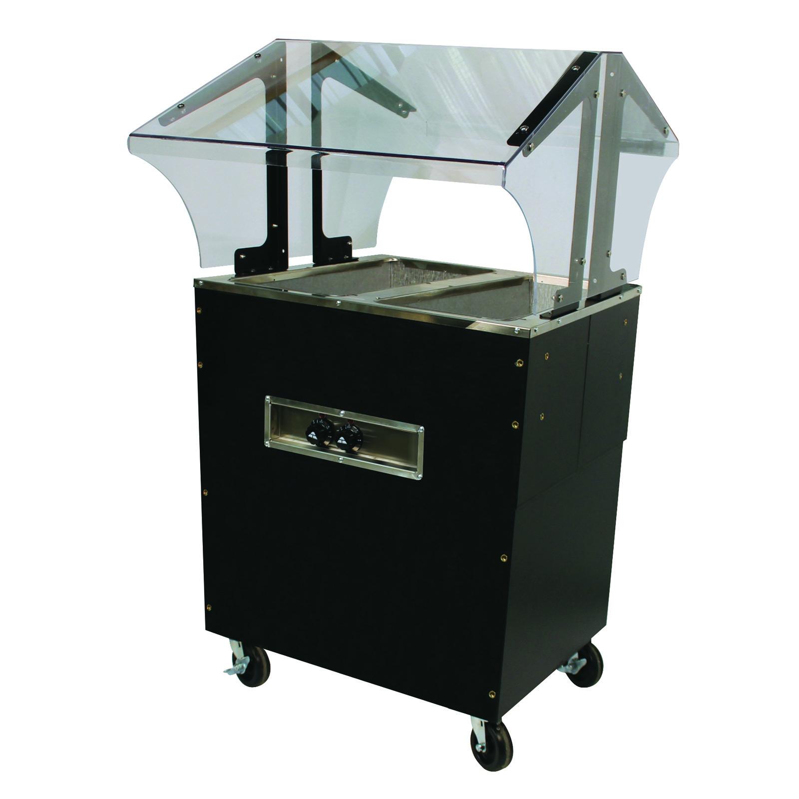 Advance Tabco B2-120-B-SB serving counter, hot food, electric