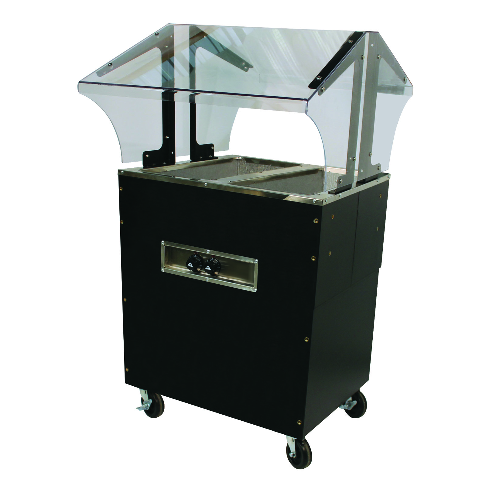 Advance Tabco B2-120-B-S-SB serving counter, hot food, electric