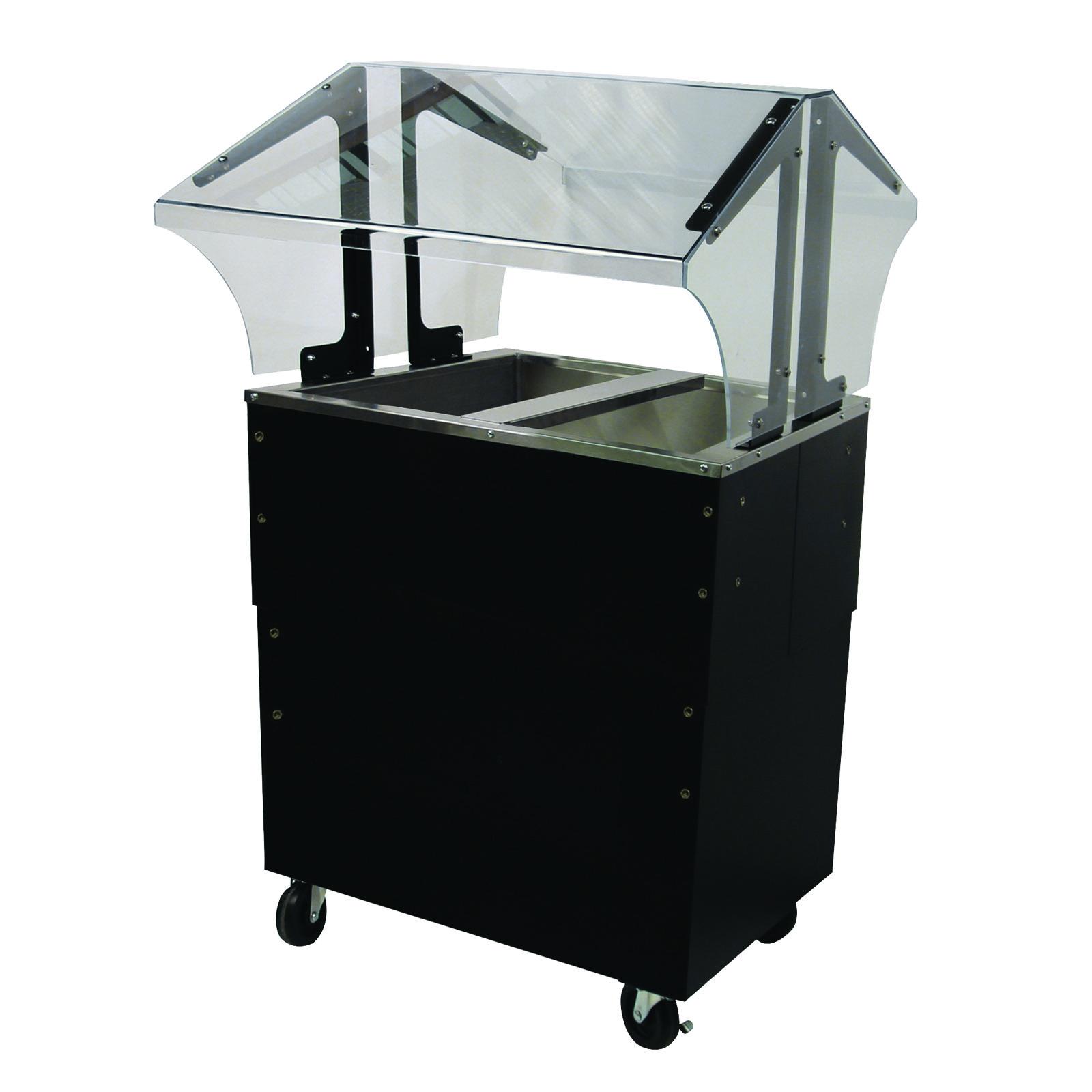 Advance Tabco B2-CPU-B-SB serving counter, cold food
