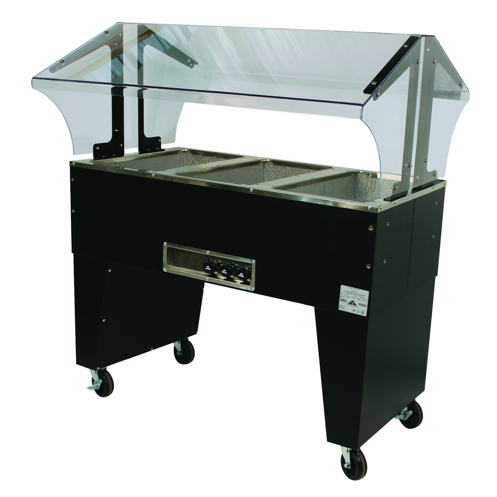 Advance Tabco B3-120-B serving counter, hot food, electric