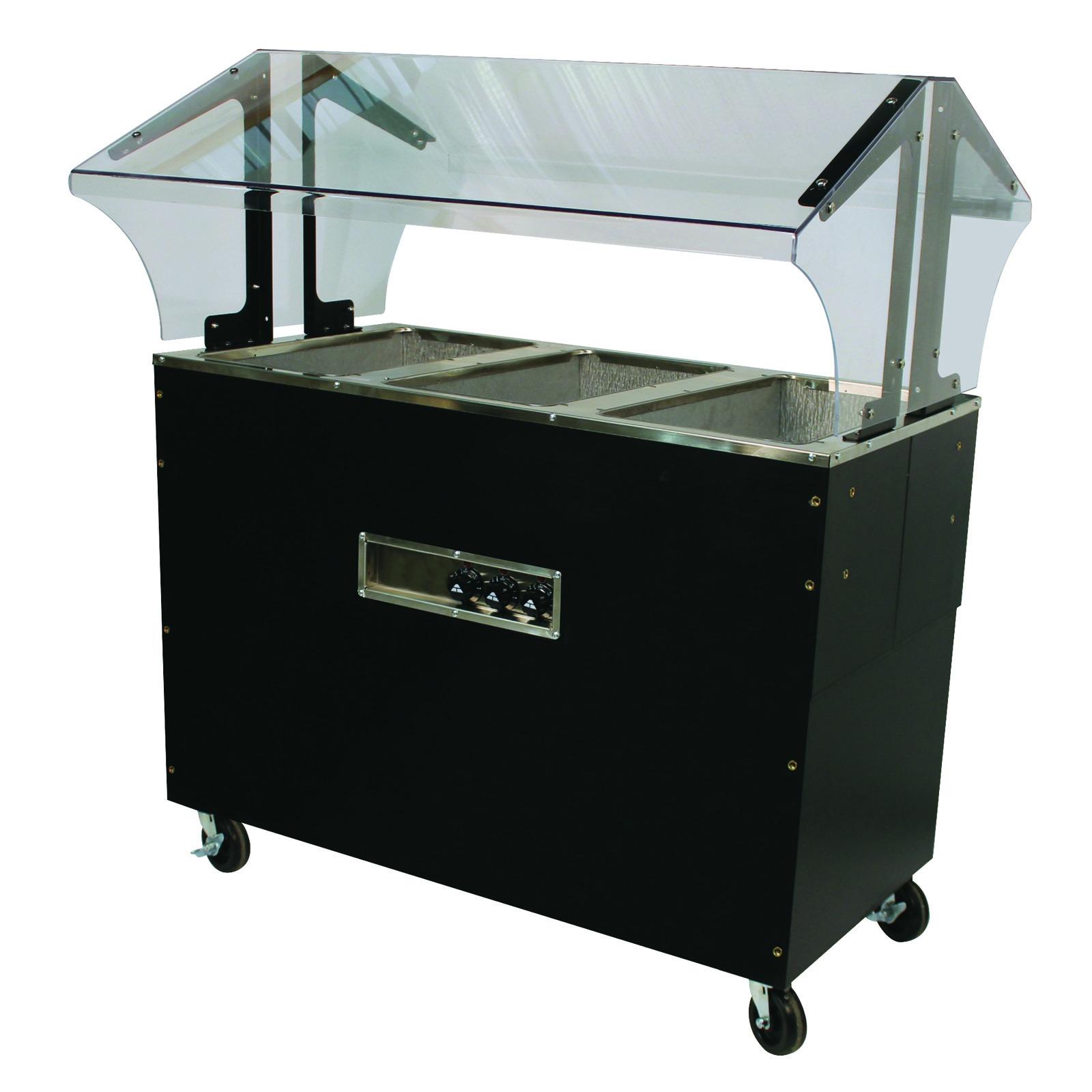 Advance Tabco B3-120-B-S-SB serving counter, hot food, electric
