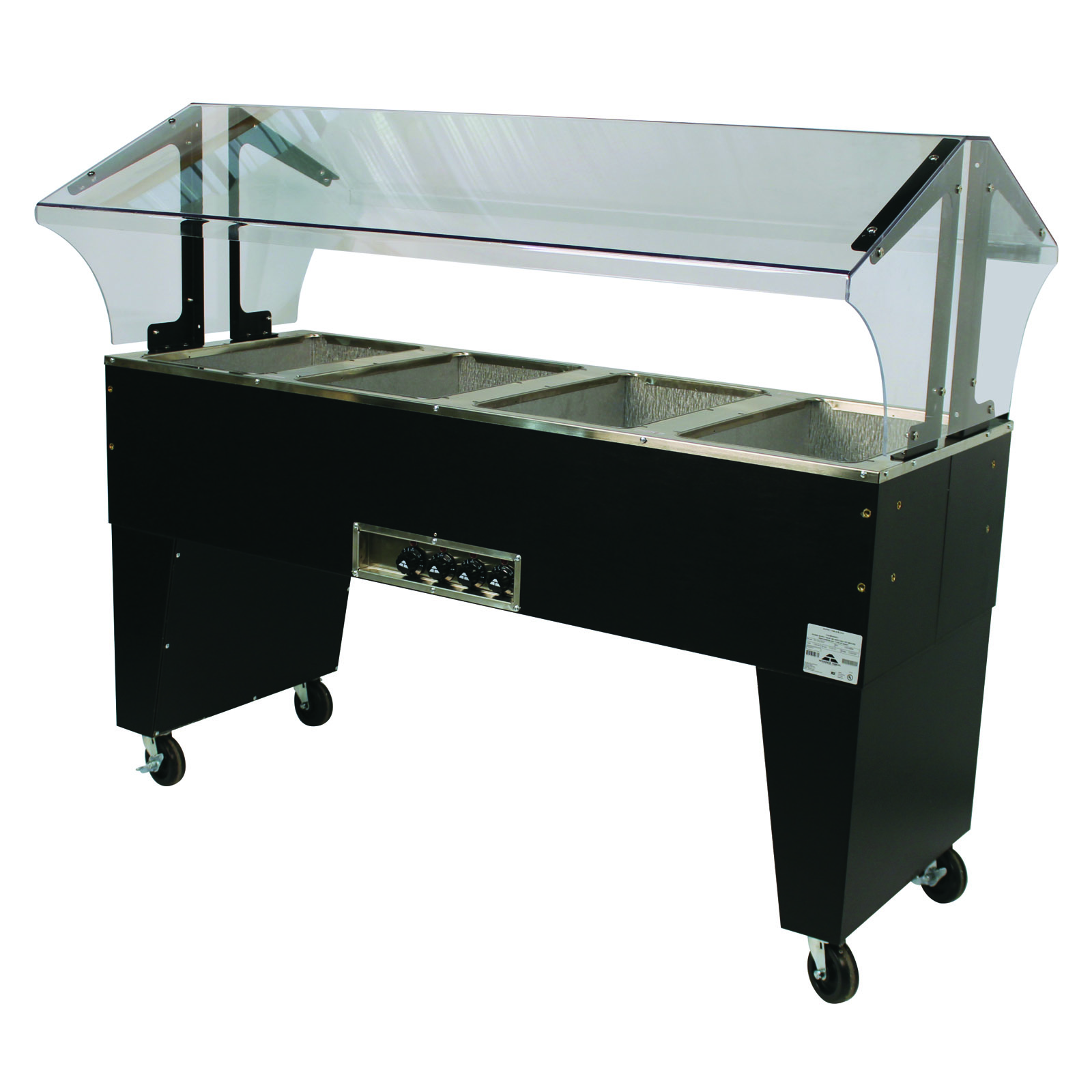 Advance Tabco B4-120-B-S serving counter, hot food, electric