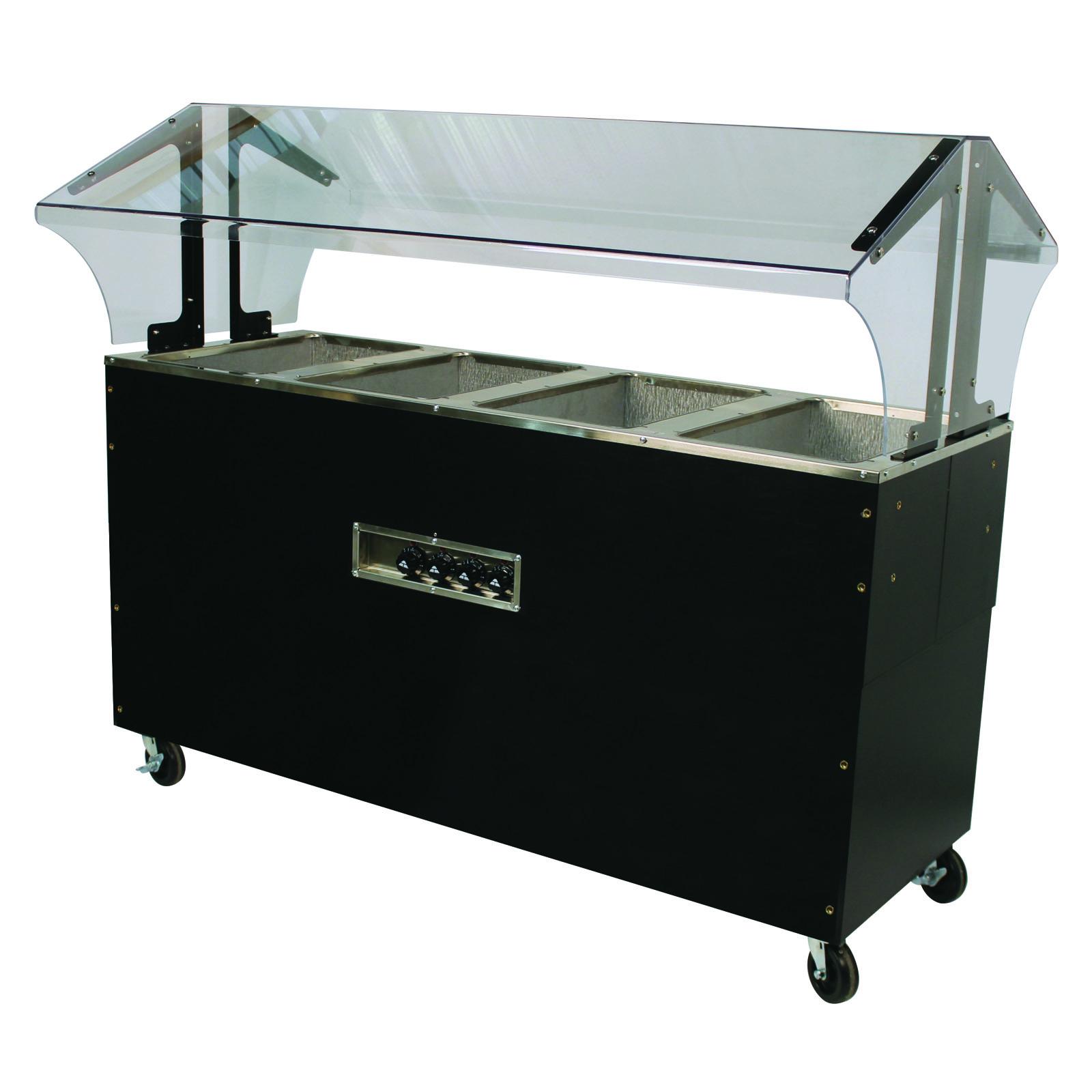 Advance Tabco B4-120-B-S-SB serving counter, hot food, electric