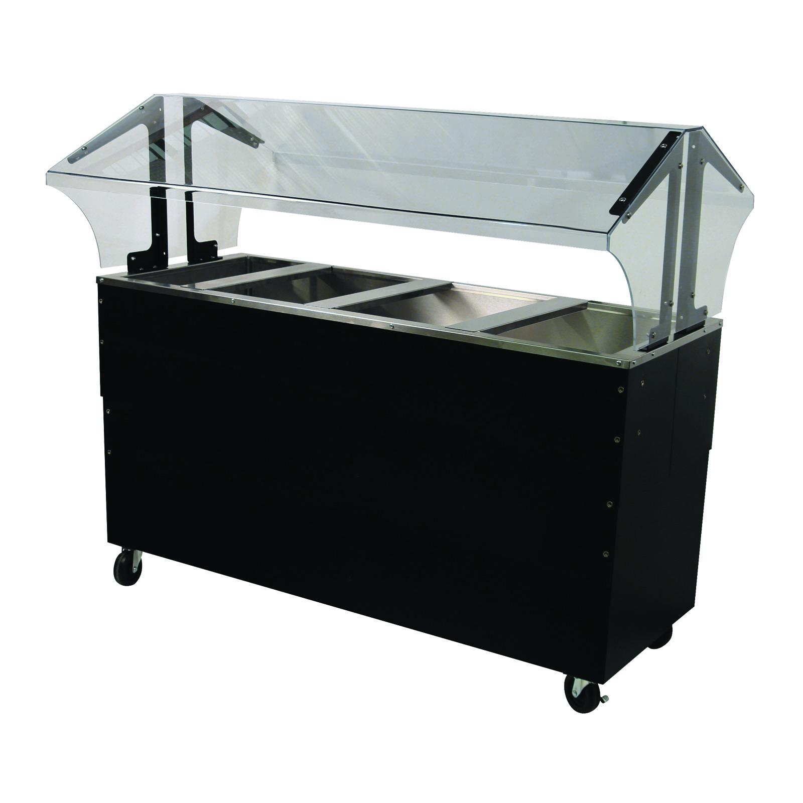 Advance Tabco B4-CPU-B-SB serving counter, cold food