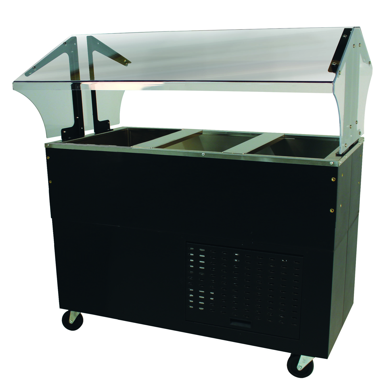 Advance Tabco BMACP3-B-SB serving counter, cold food