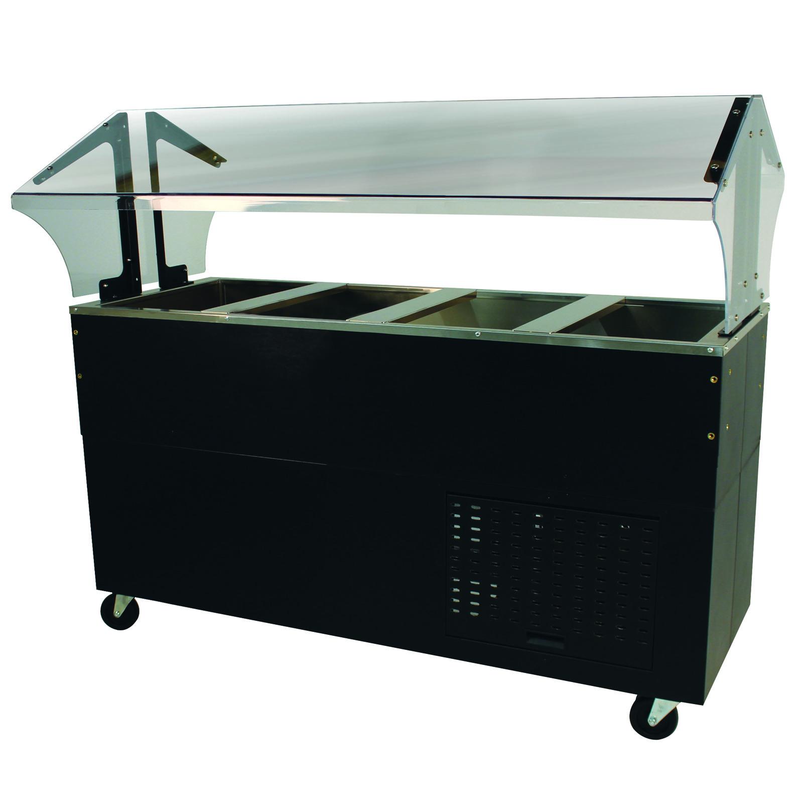 Advance Tabco BMACP4-B-SB serving counter, cold food
