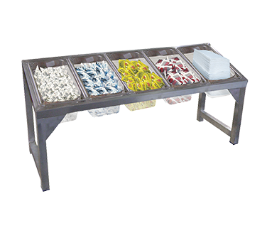 Advance Tabco CDR-5 condiment caddy, rack only