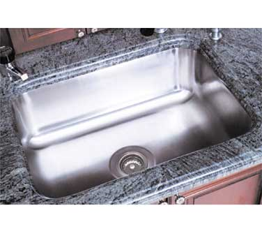 Advance Tabco CO-1014A-10RE sink bowl, weld-in / undermount