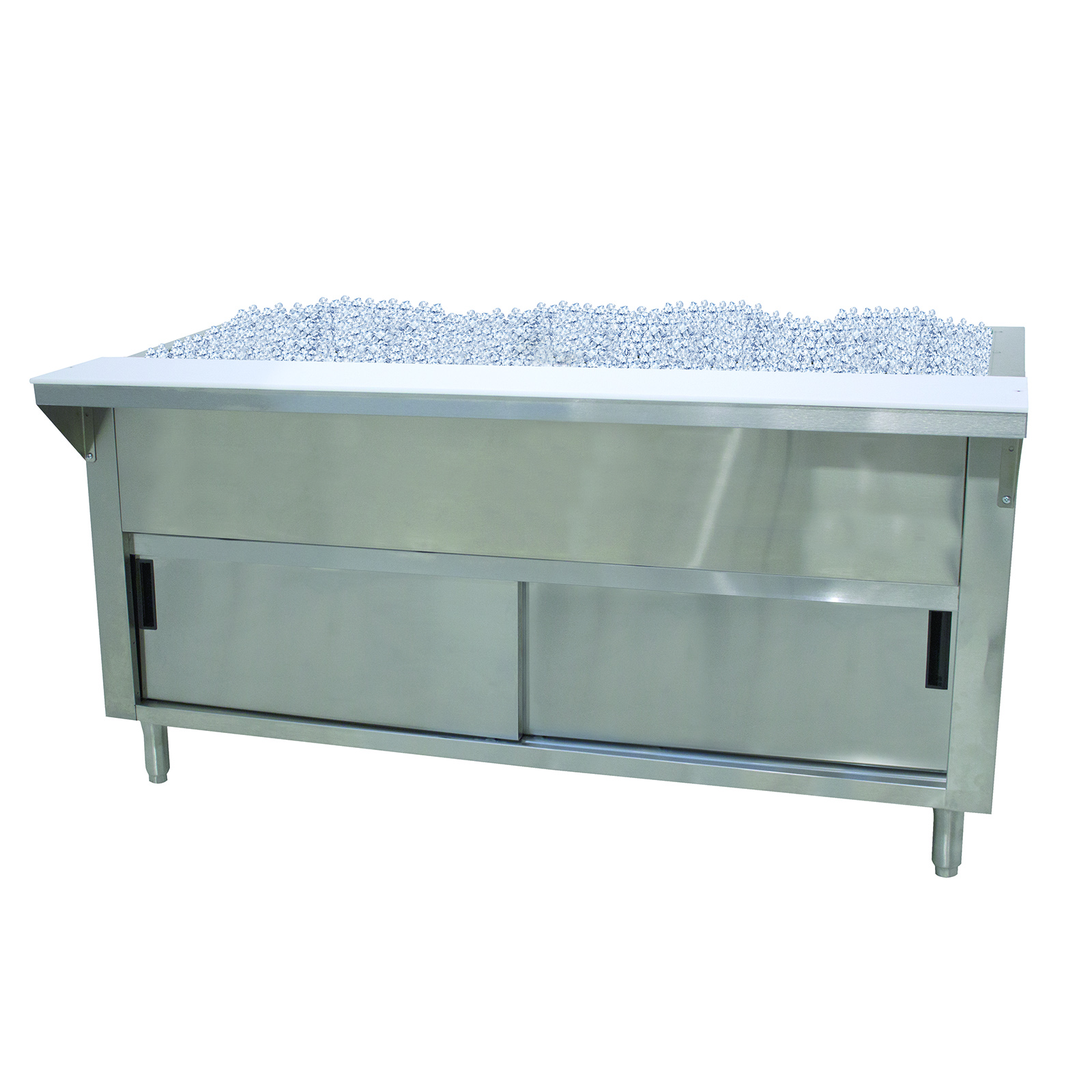 Advance Tabco CPU-2-DR serving counter, cold food