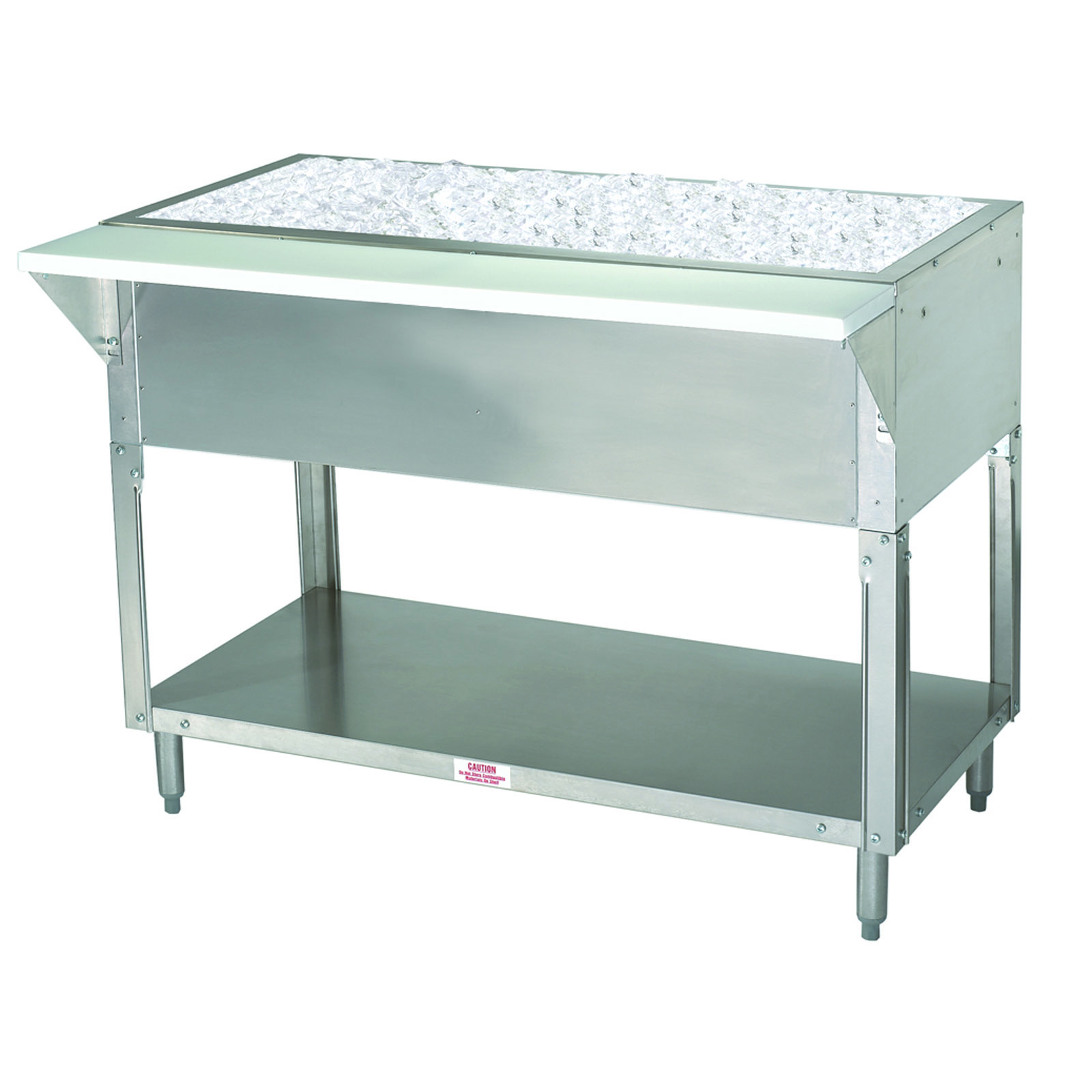 Advance Tabco CPU-3 serving counter, cold food