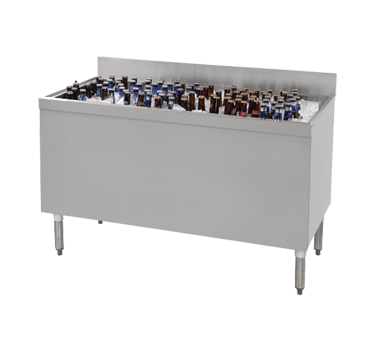 Advance Tabco CRBB-48 underbar beer bin, ice cooled