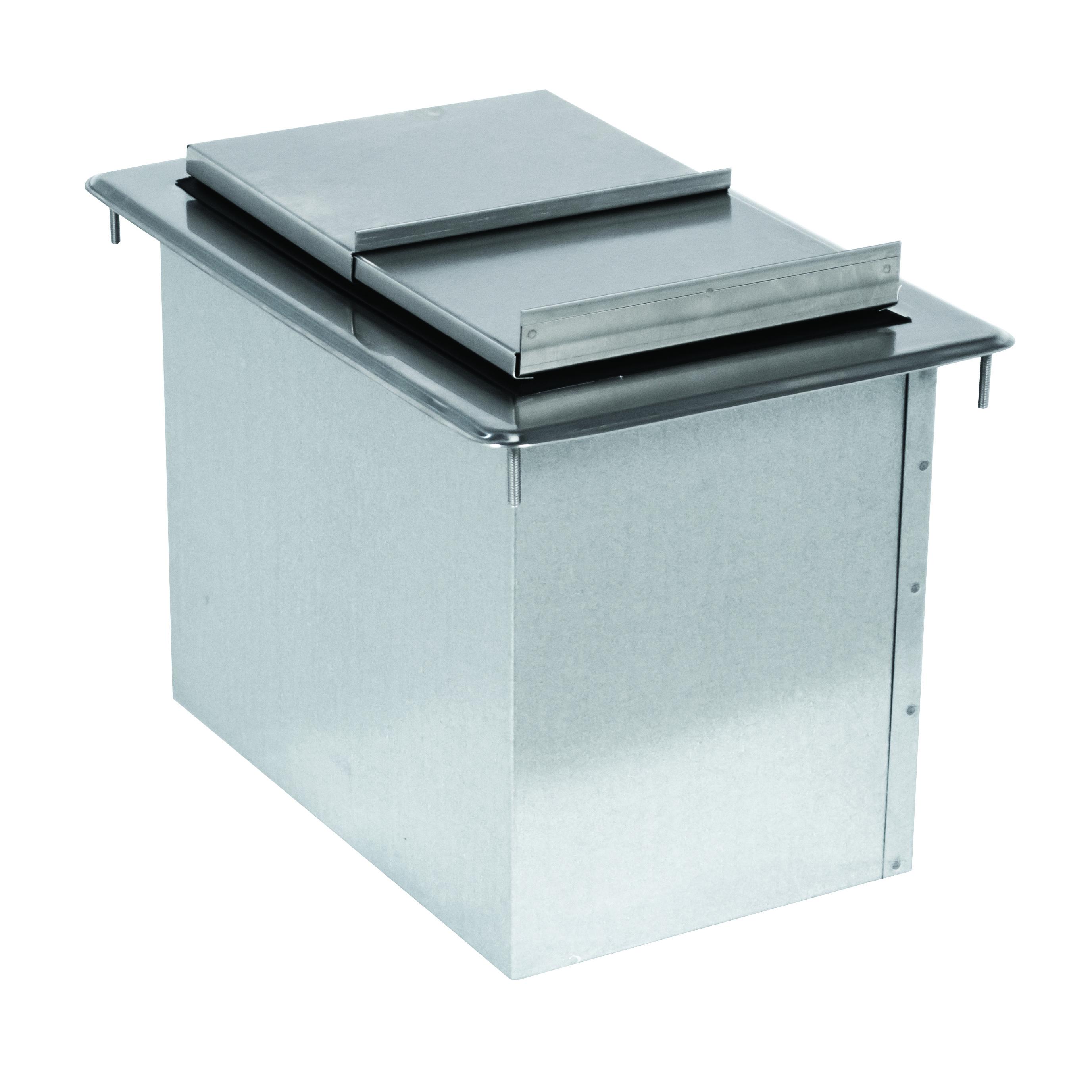 Advance Tabco D-12-IBL-X ice bin, drop-in