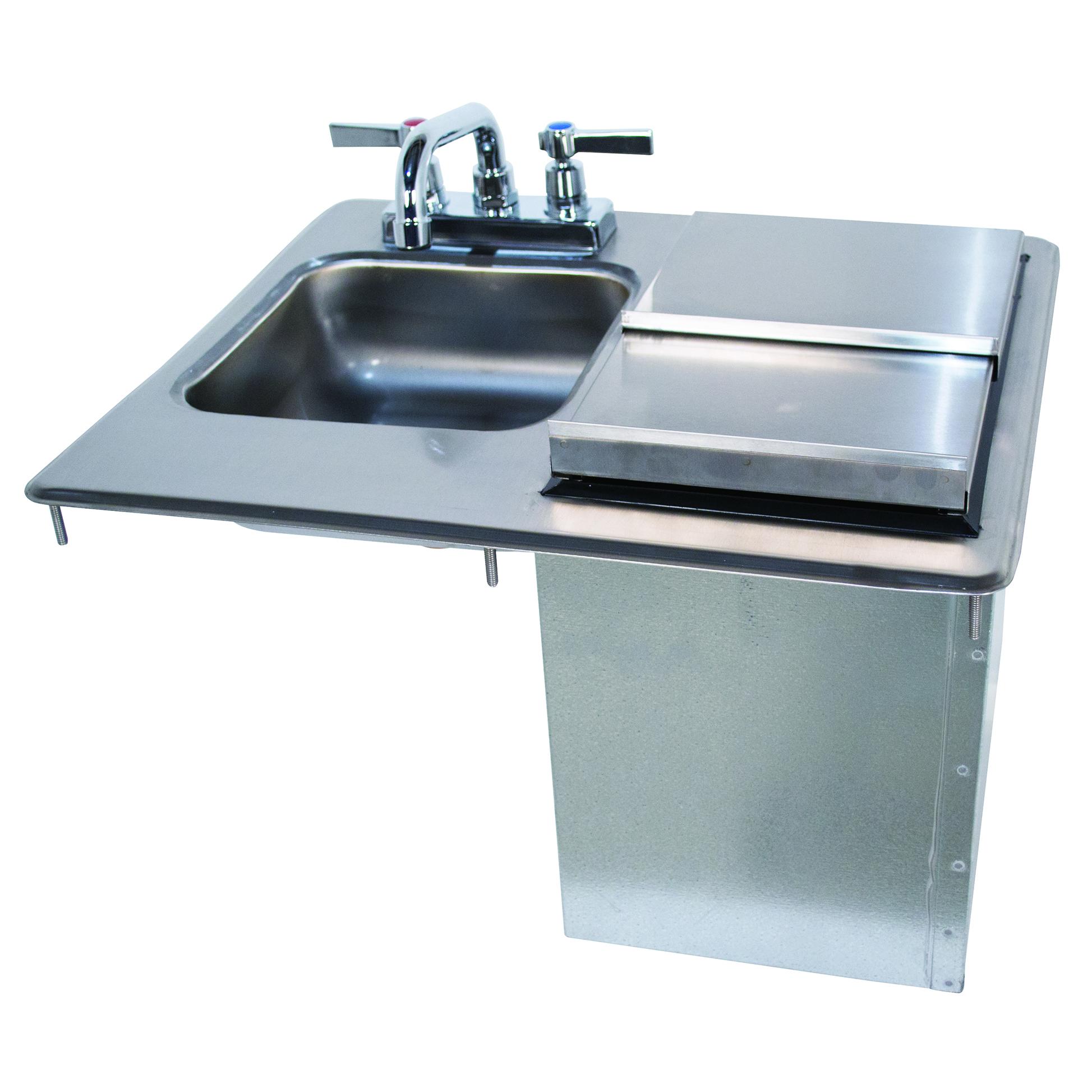 Advance Tabco D-24-SIBL sink, drop-in