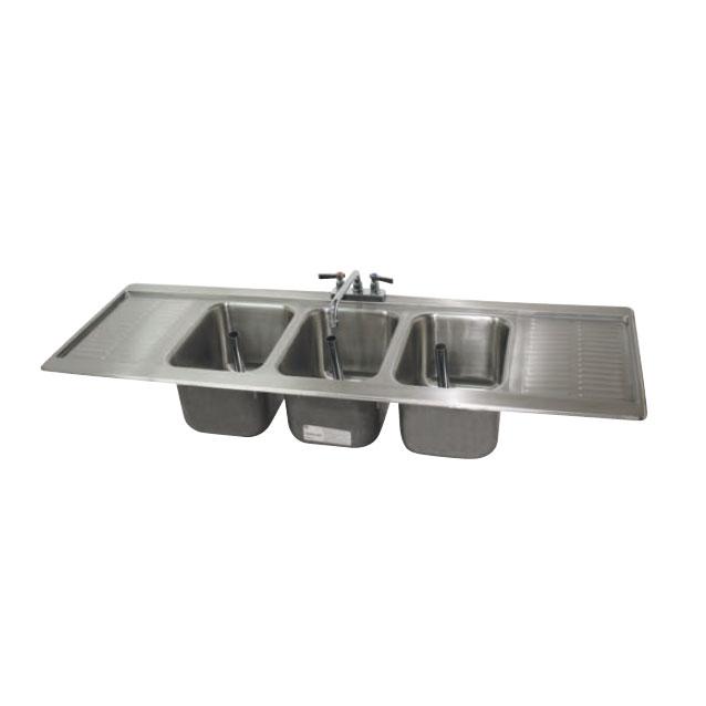 Advance Tabco DBS-53C underbar sink, drop-in