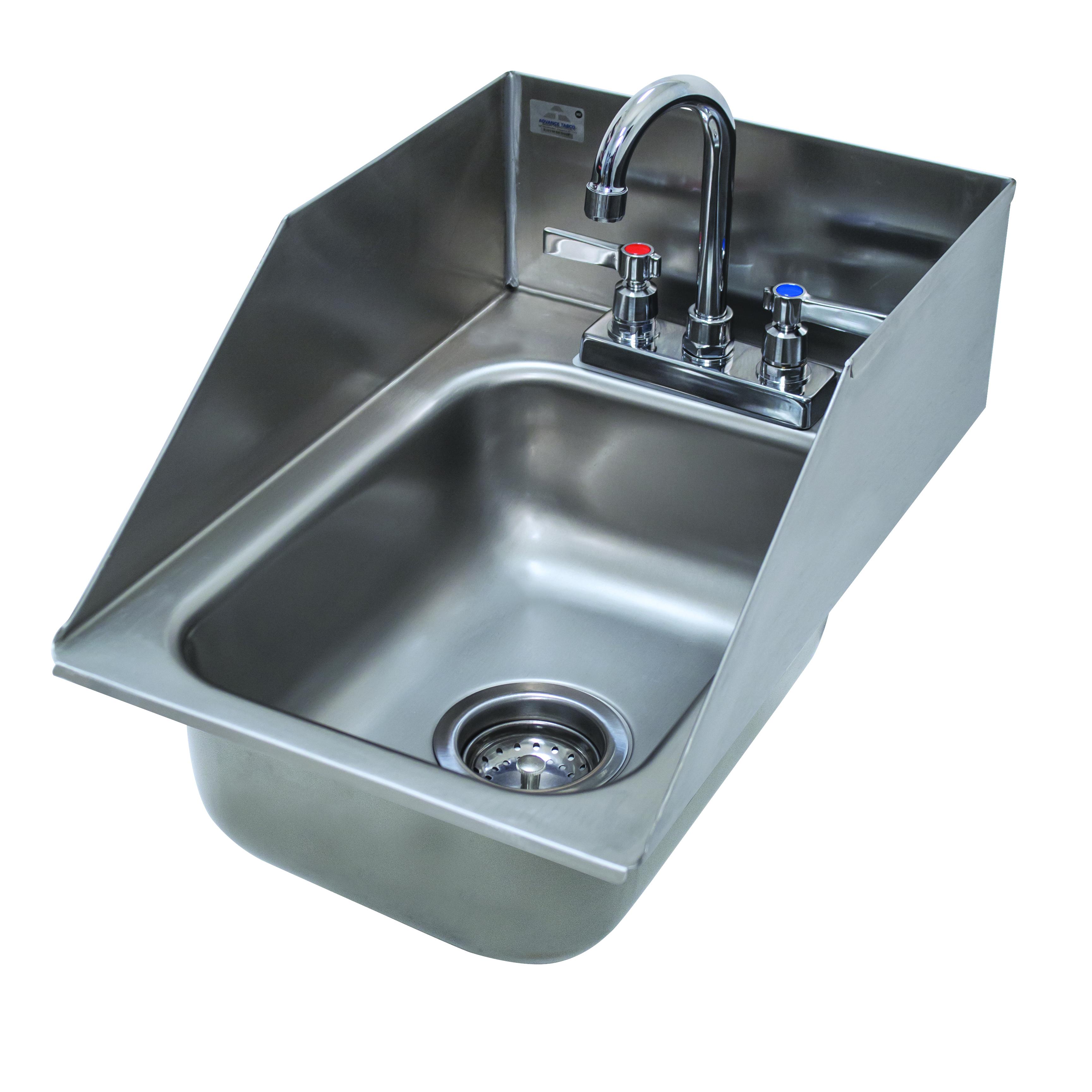 Advance Tabco DI-1-10SP-1X sink, drop-in