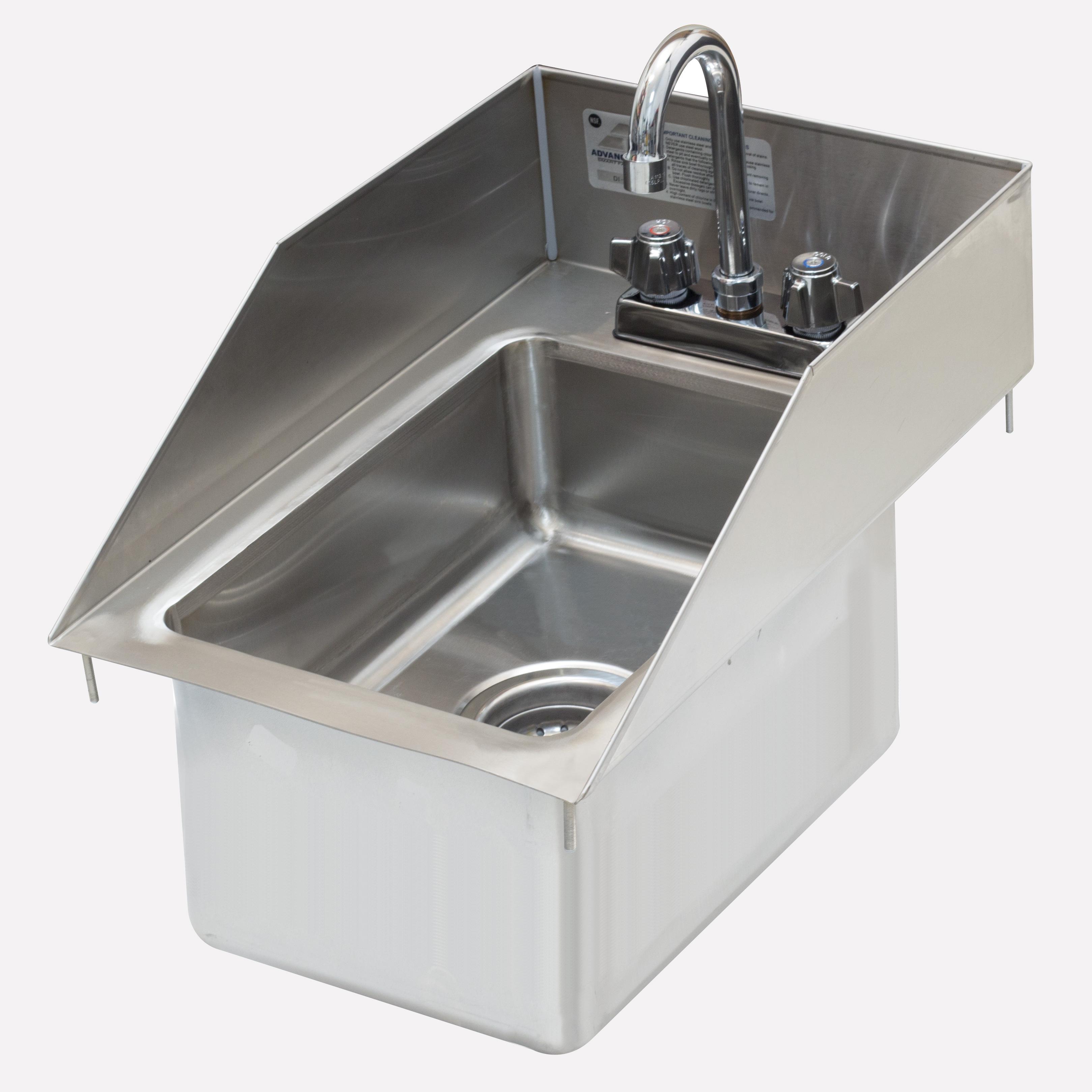 Advance Tabco DI-1-10SP-EC sink, drop-in