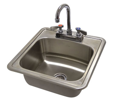 Advance Tabco DI-1-1515-X sink, drop-in