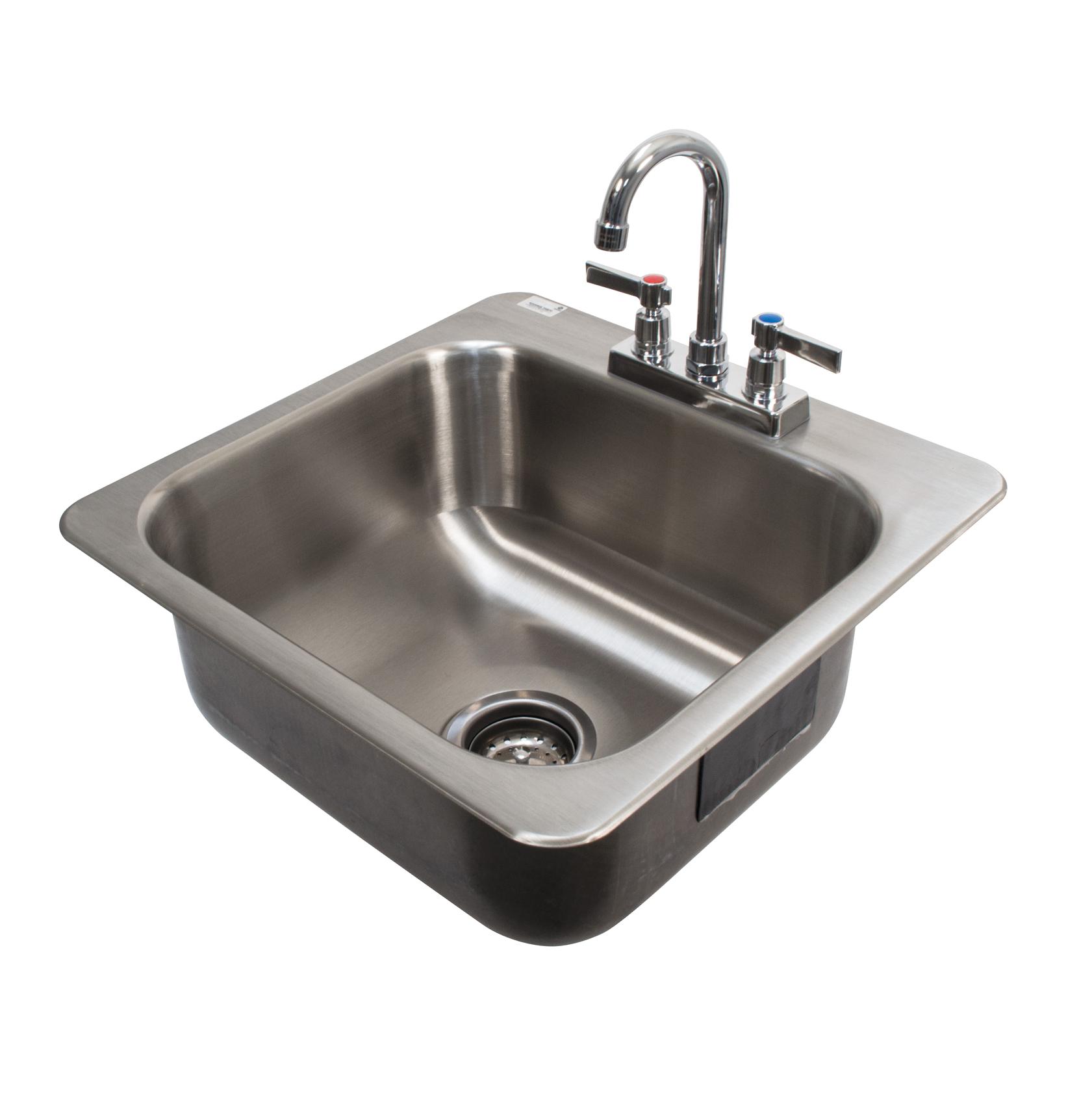 Advance Tabco DI-1-168-2X sink, drop-in