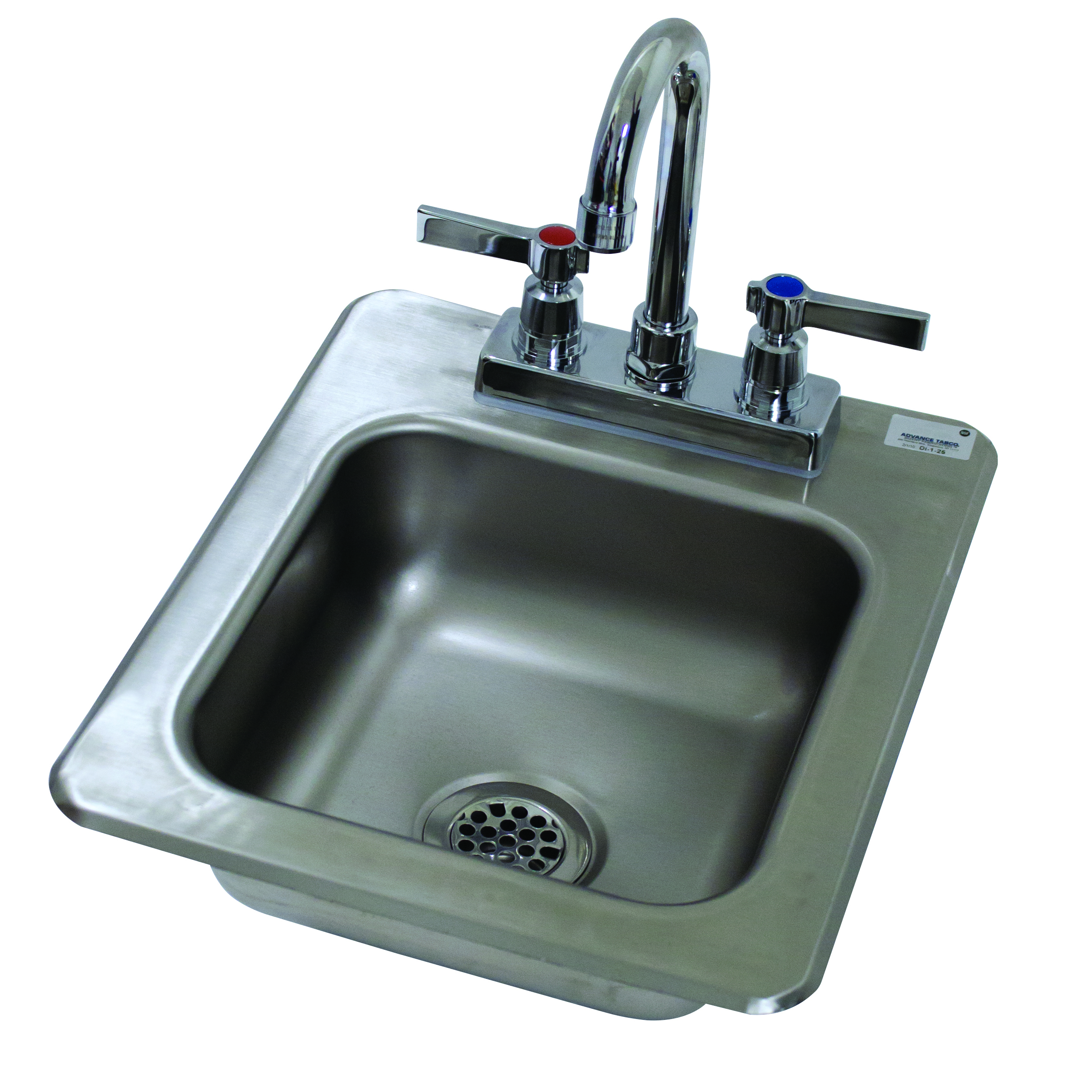 Advance Tabco DI-1-25 sink, drop-in