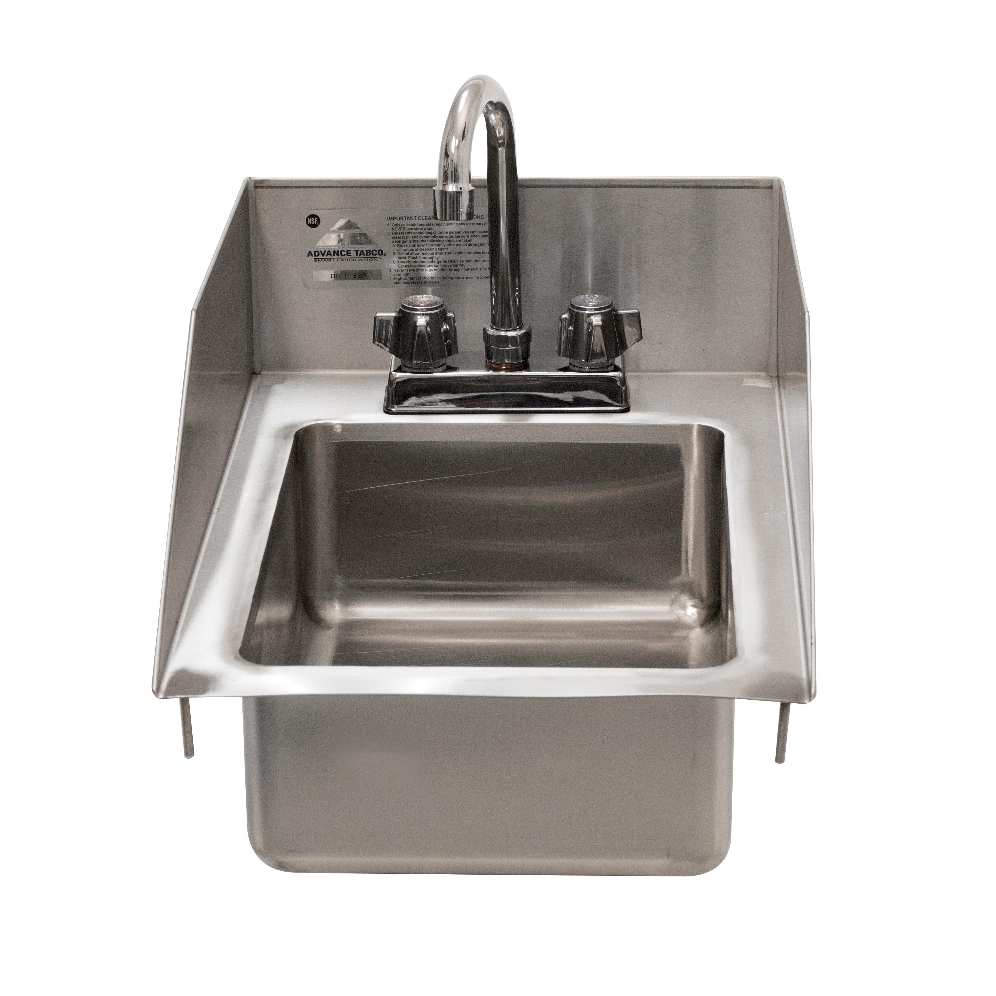 Advance Tabco DI-1-5SP-EC sink, drop-in