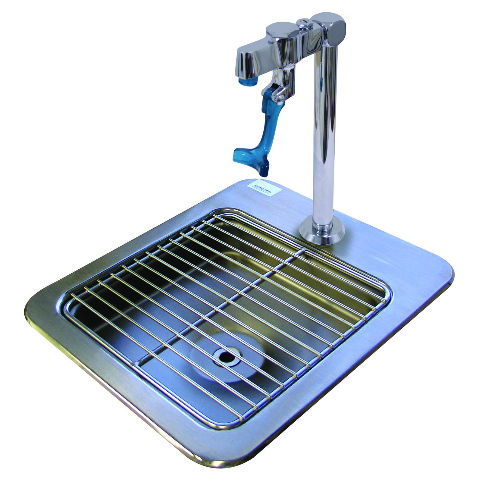 Advance Tabco DI-1-9 glass filler station with drain pan