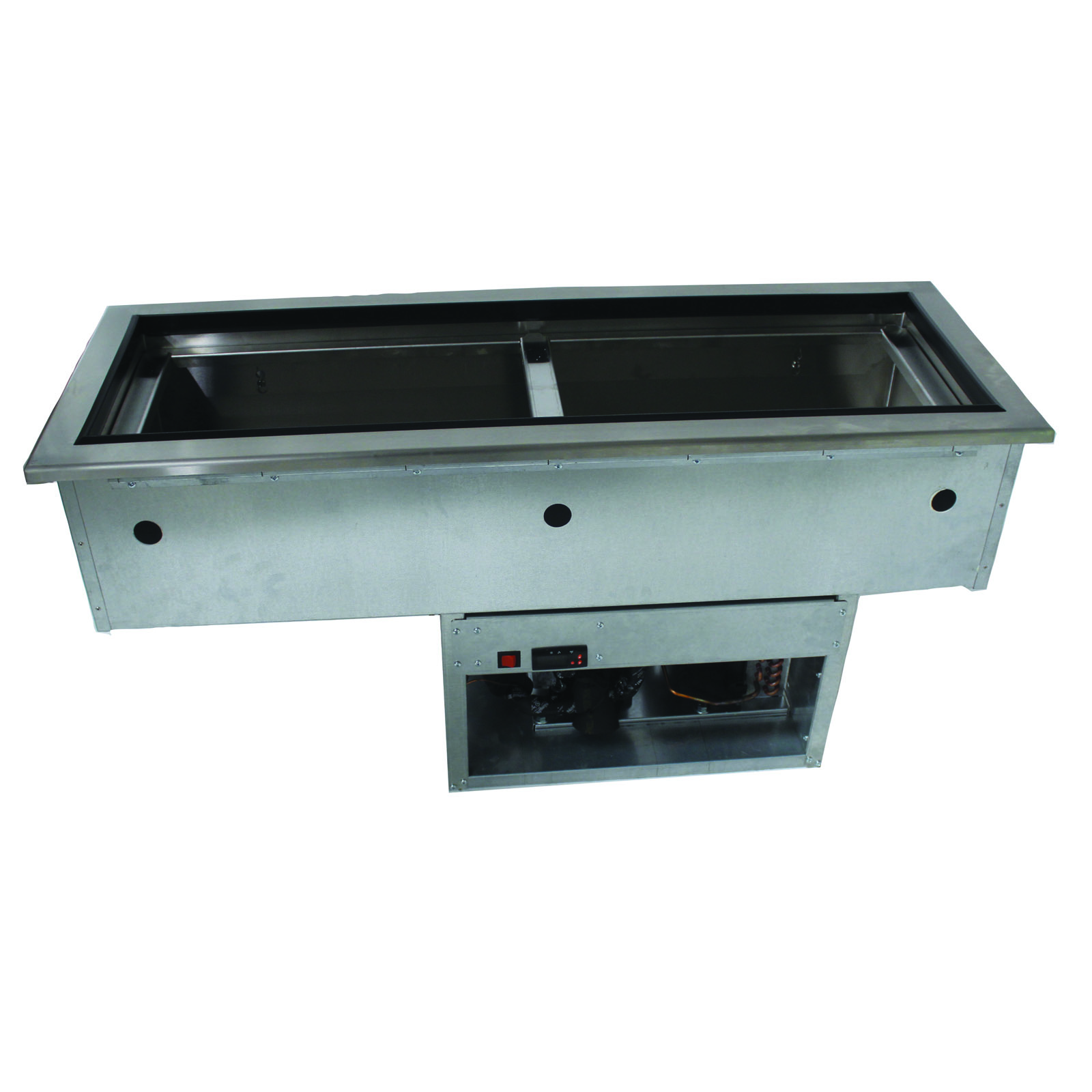 Advance Tabco DISLRCP-2 cold food well unit, drop-in, refrigerated