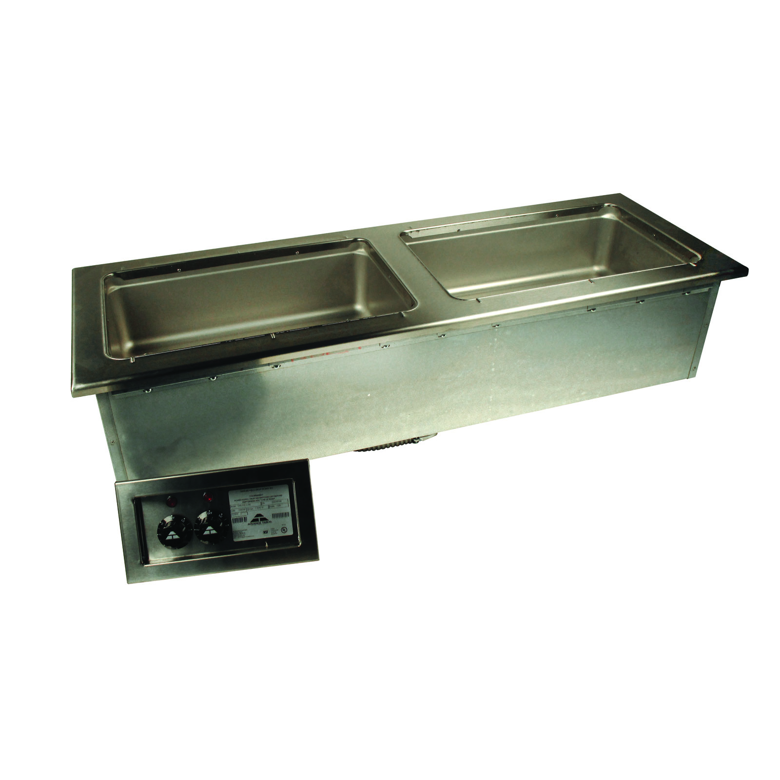 Advance Tabco DISLSW-2-120 hot food well unit, drop-in, electric