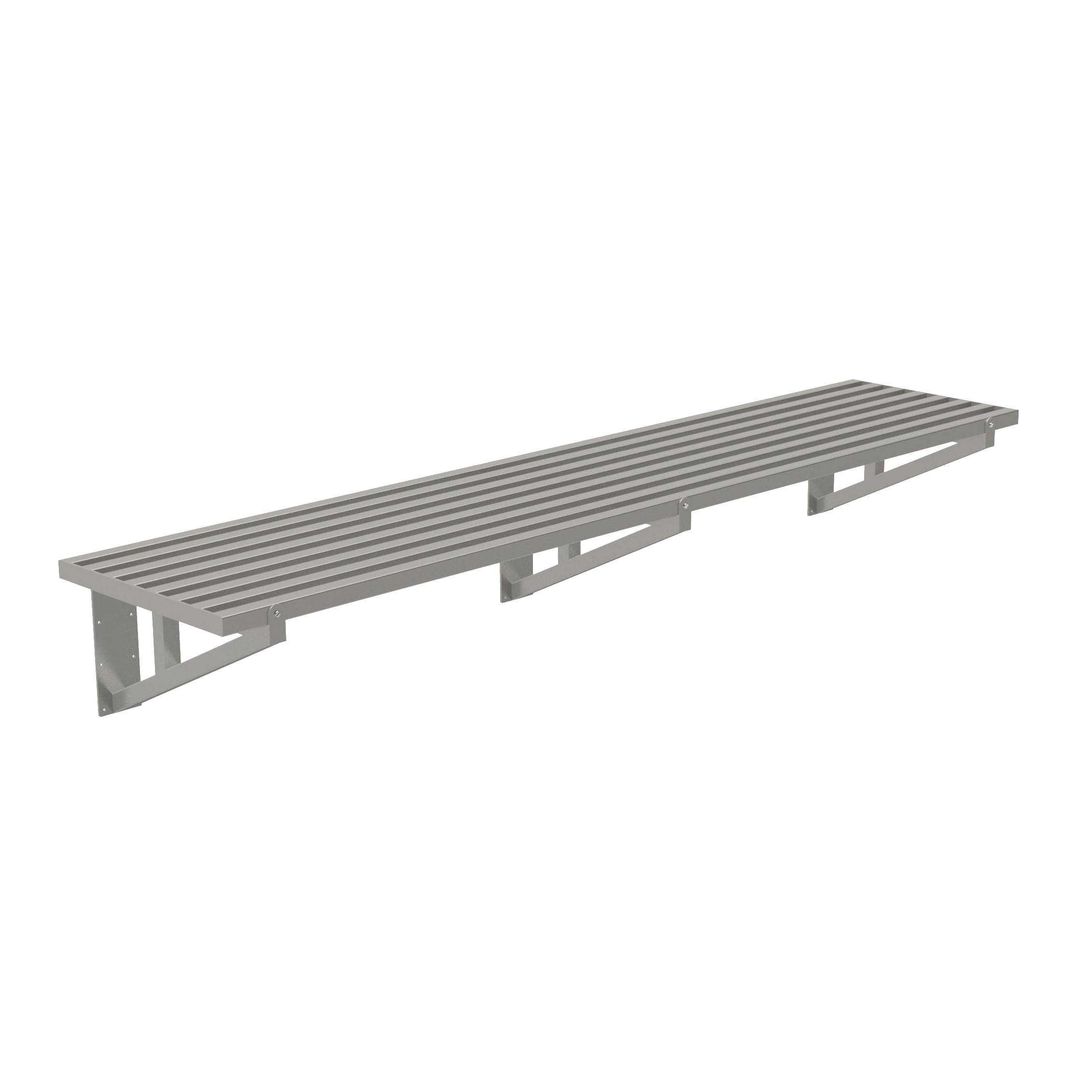 Advance Tabco DT21-10 shelving, wall mounted