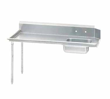 Advance Tabco DTS-S60-84L-X dishtable, soiled