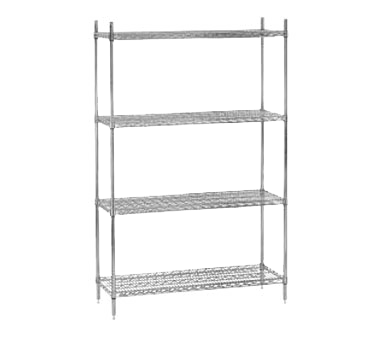 Advance Tabco ECC-1448 shelving unit, wire