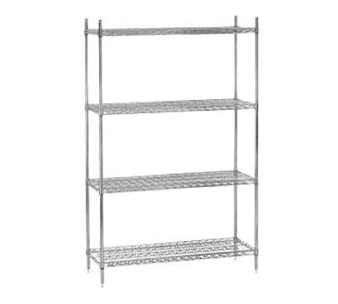Advance Tabco ECC-1472 shelving unit, wire