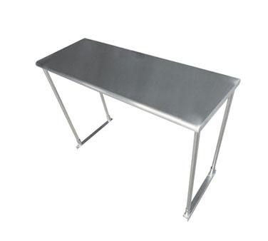Advance Tabco ETS-18-96 overshelf, table-mounted
