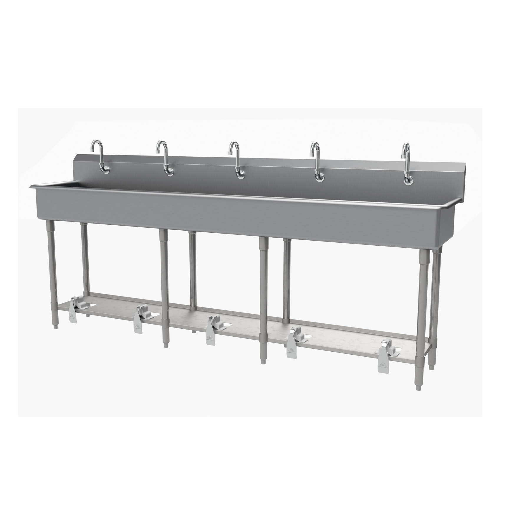 Advance Tabco FC-FM-100FV sink, hand