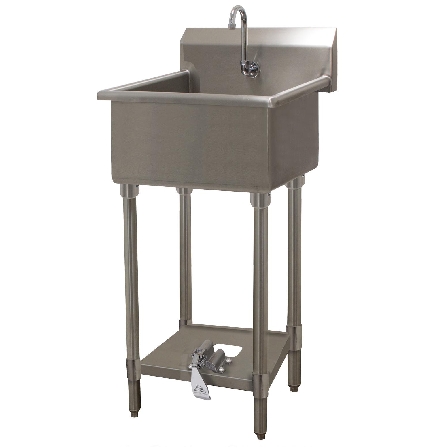 Advance Tabco FC-FM-2721FV sink, hand