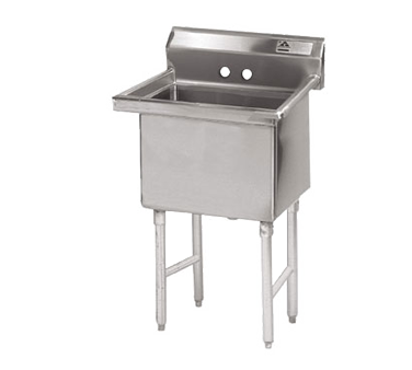 Advance Tabco FS-1-1824 sink, (1) one compartment