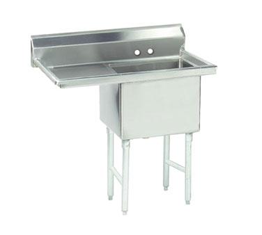 Advance Tabco FS-1-1824-24L sink, (1) one compartment