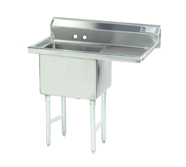 Advance Tabco FS-1-3024-24R sink, (1) one compartment