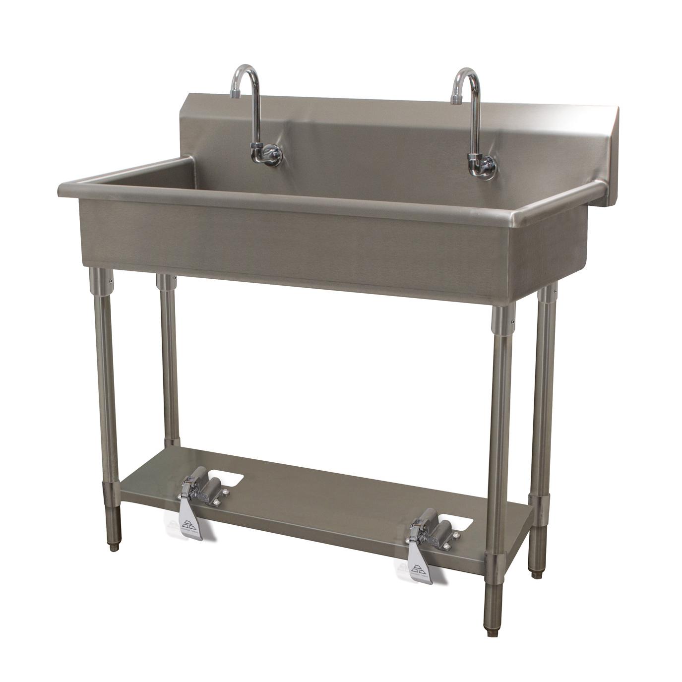 Advance Tabco FS-FM-40FV sink, hand