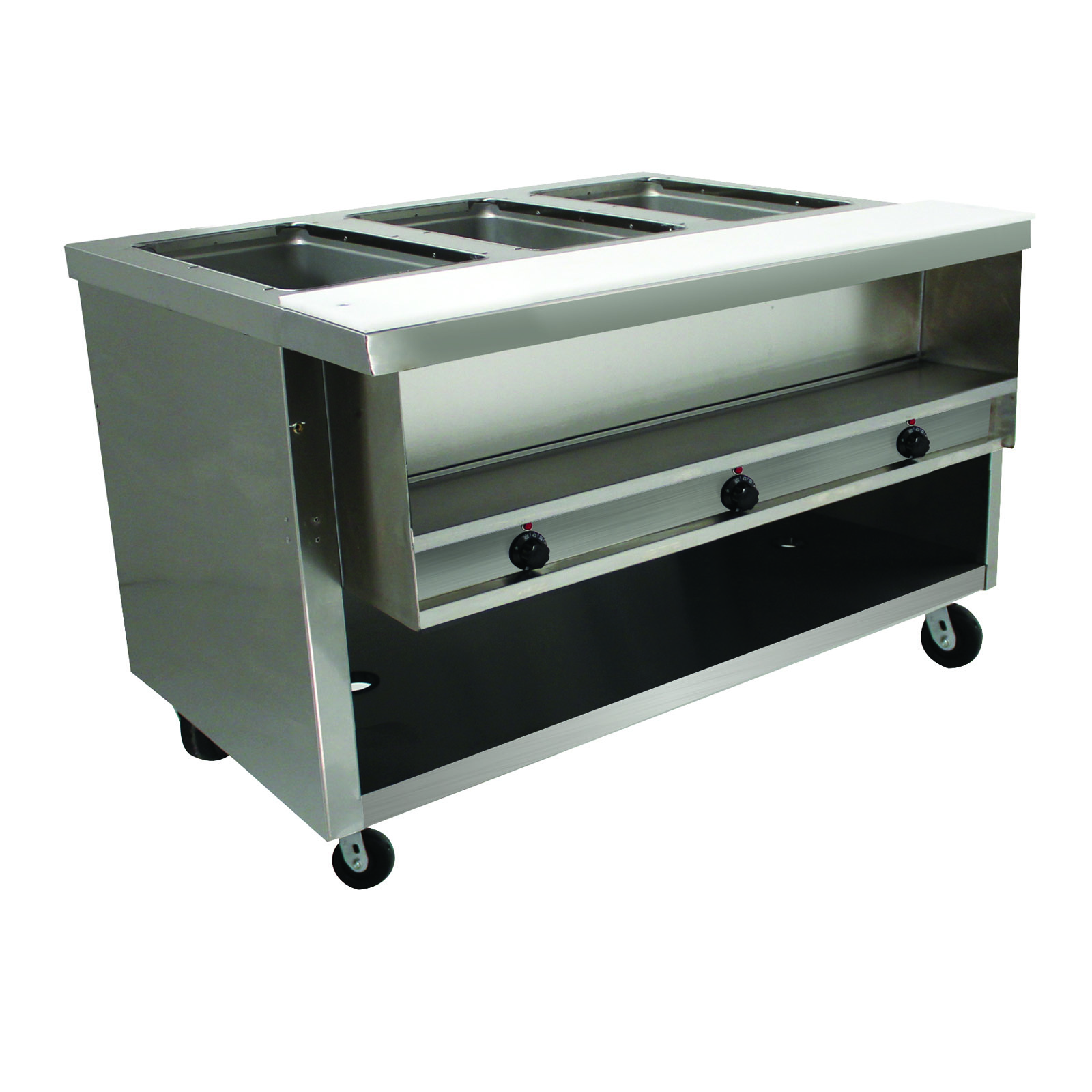 Advance Tabco HDSW-3-120-BS serving counter, hot food, electric