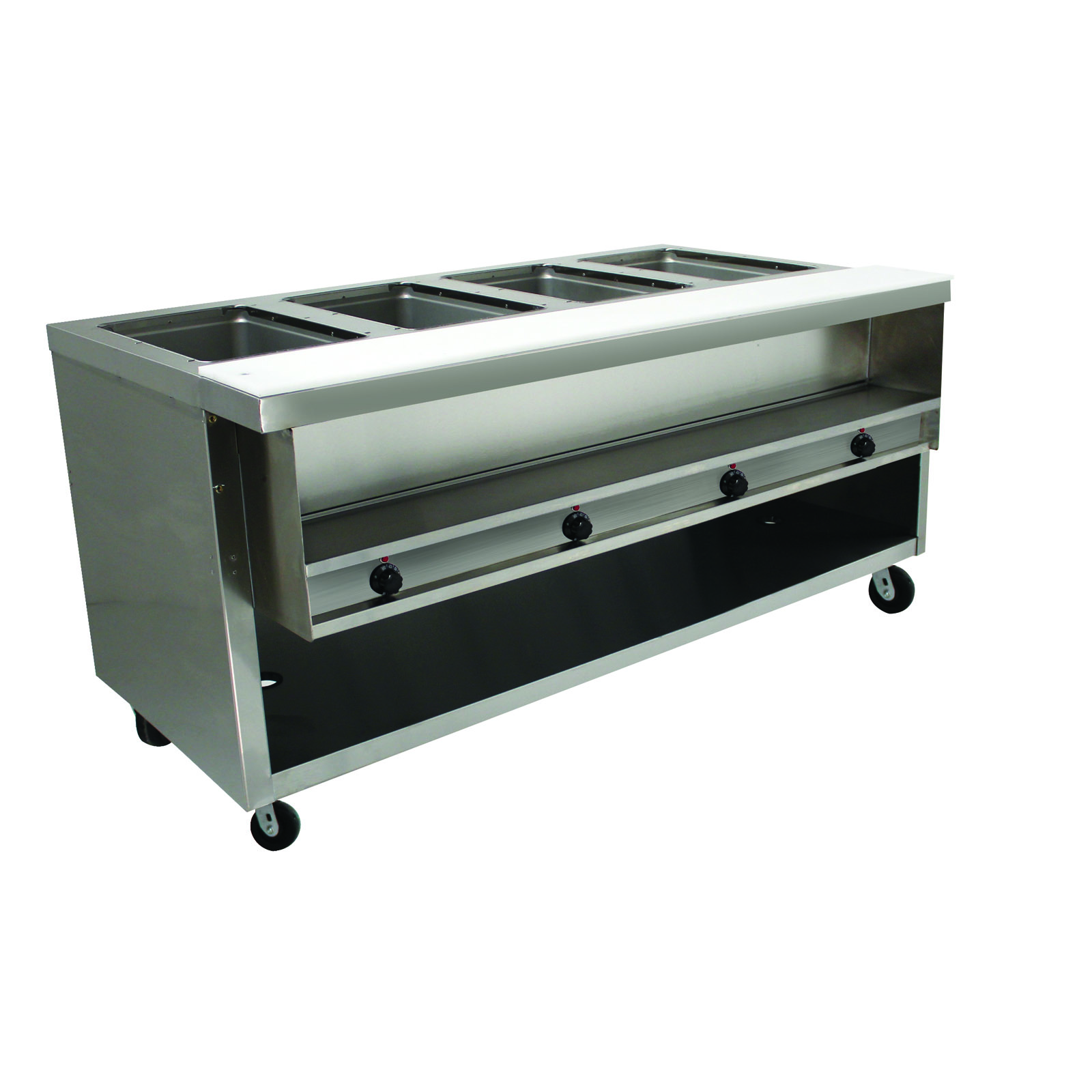 Advance Tabco HDSW-4-120-BS serving counter, hot food, electric