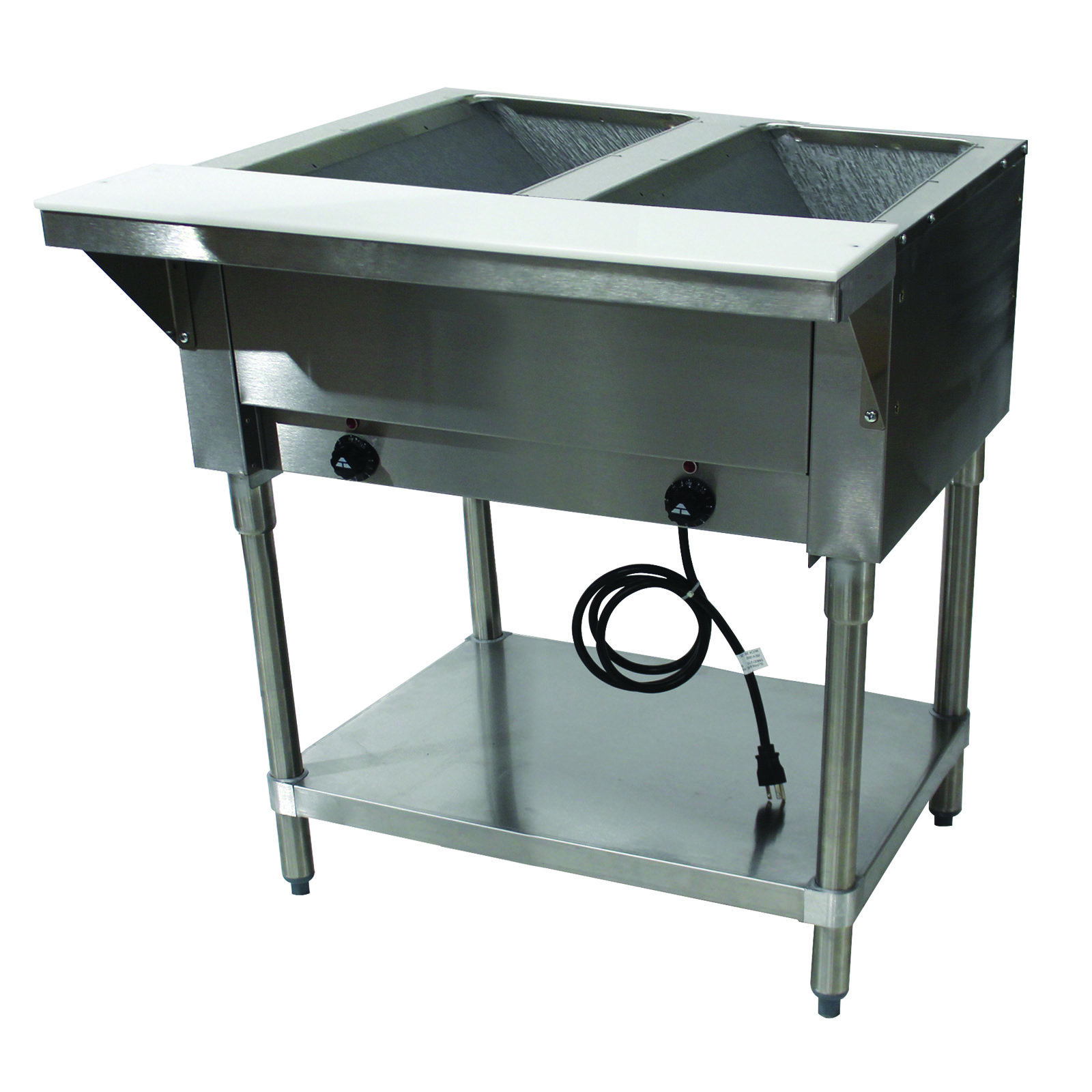 Advance Tabco HF-2E-240 serving counter, hot food, electric