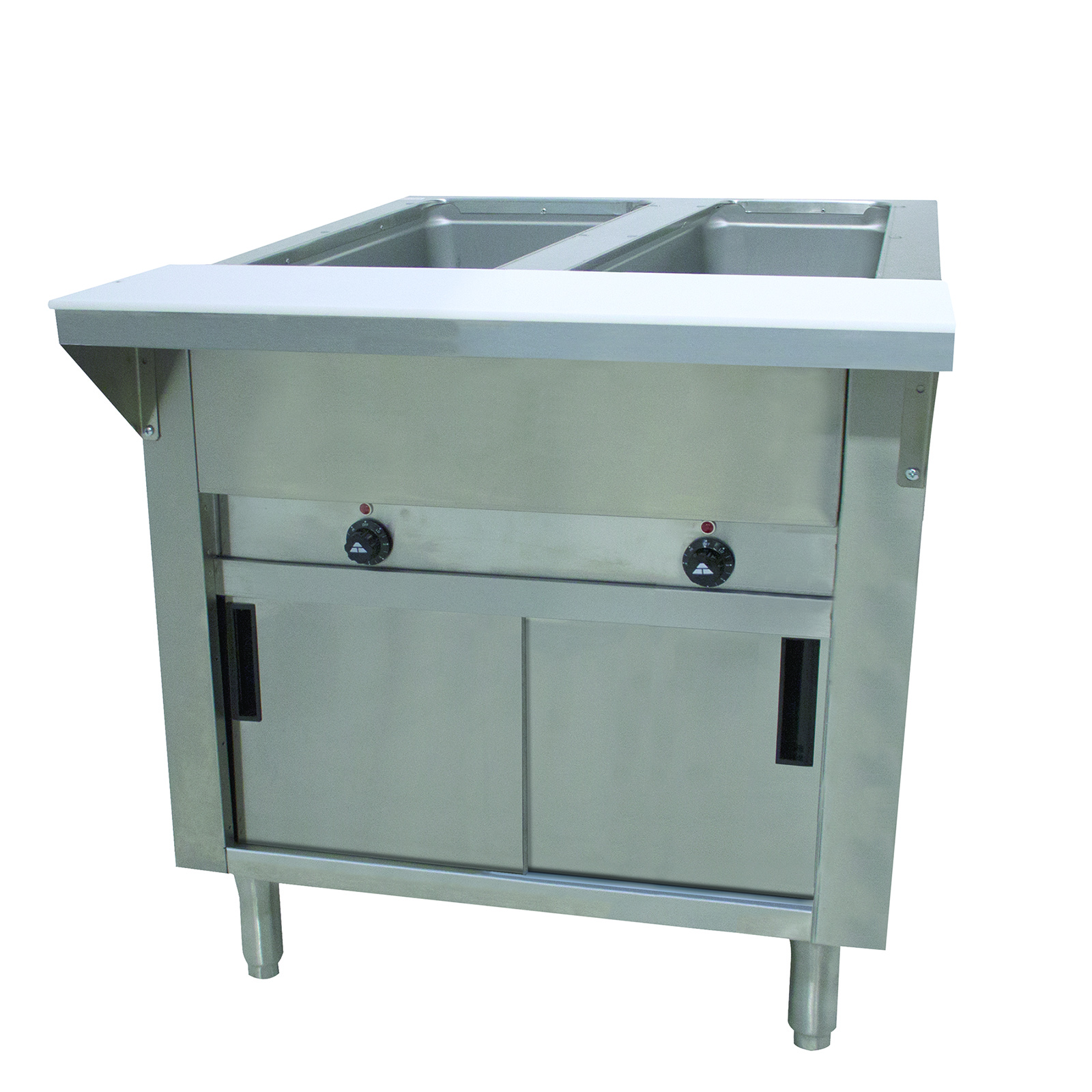 Advance Tabco HF-2E-240-DR serving counter, hot food, electric