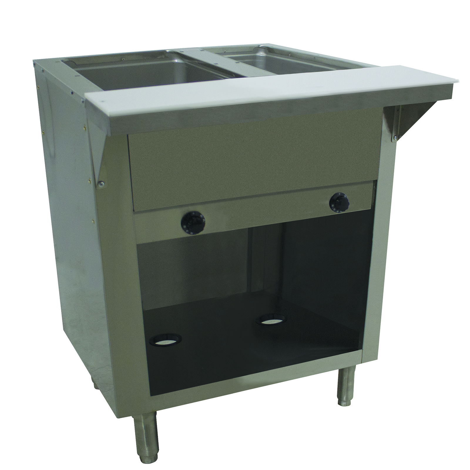 Advance Tabco HF-2G-LP-BS serving counter, hot food, gas