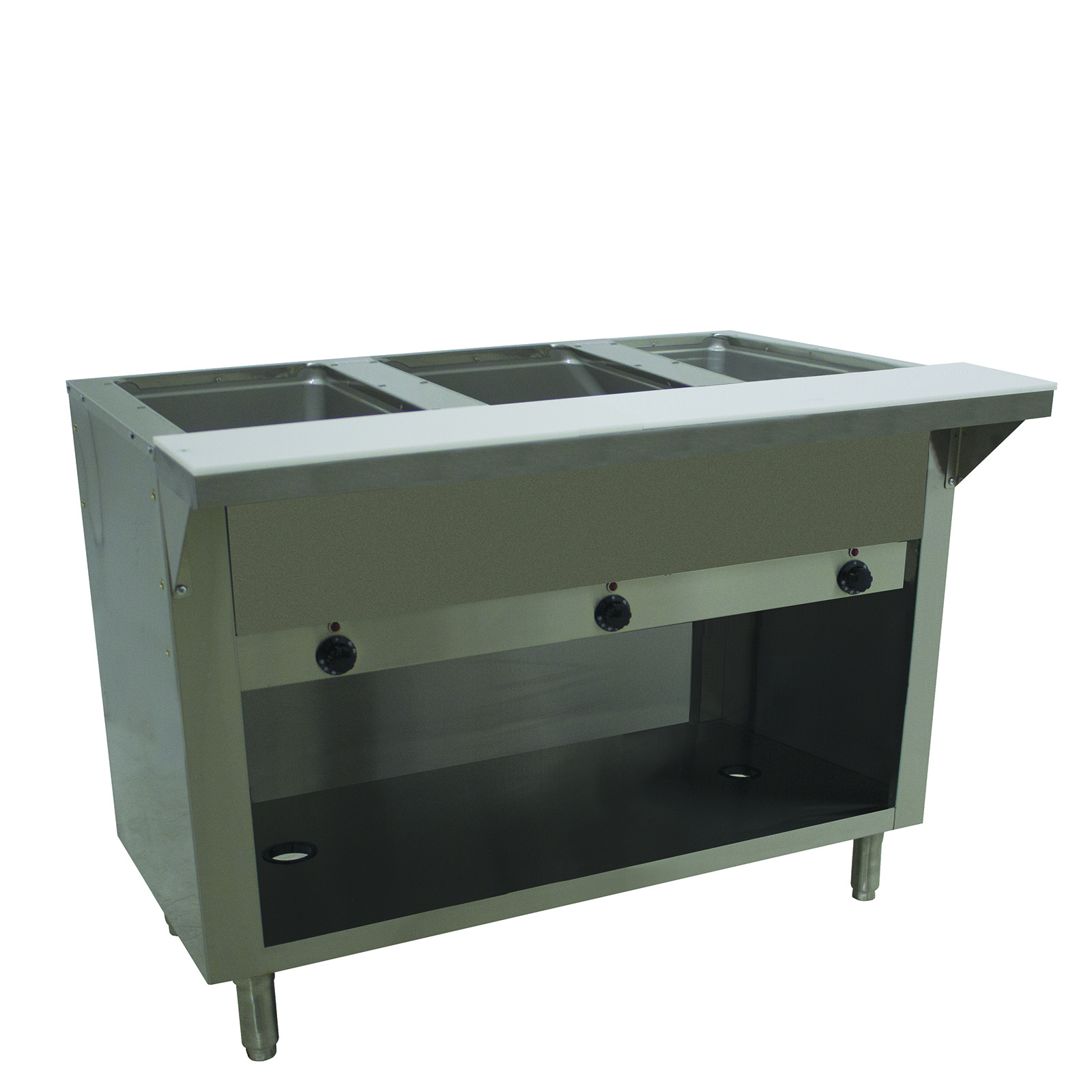 Advance Tabco HF-3E-120-BS serving counter, hot food, electric