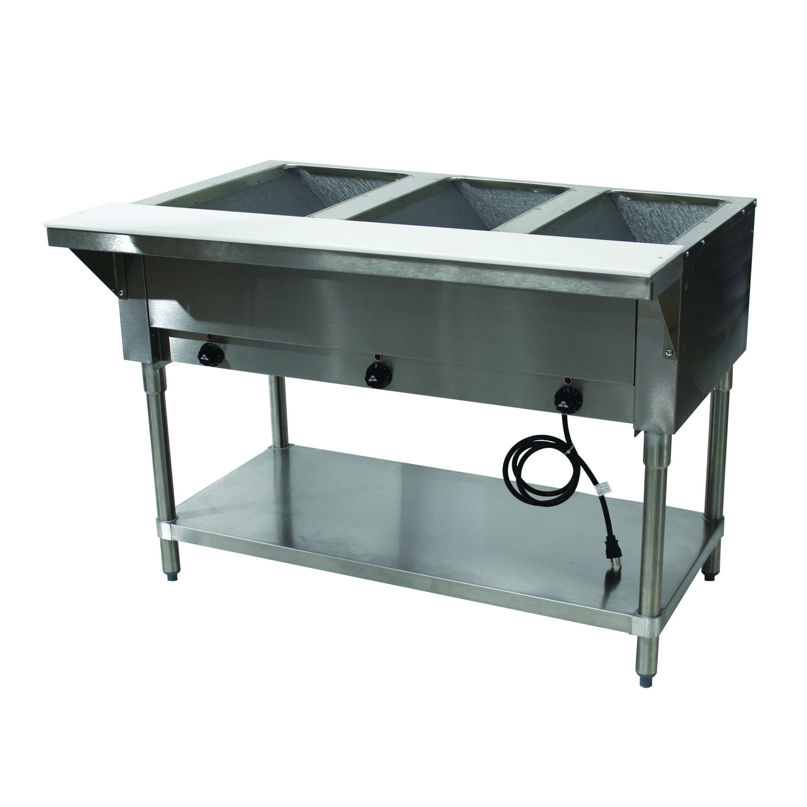 Advance Tabco HF-3E-240 serving counter, hot food, electric